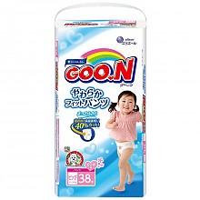 GOO.N 大王 维E系列 拉拉裤 女 XL38片