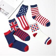 买1送1# 纤丝鸟 情侣保暖中筒袜 5双*2件