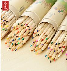 中华 6725原木彩色铅笔12色