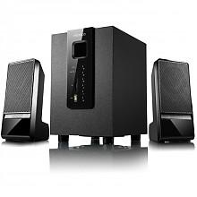 麦博(microlab) M100U 支持SD卡、U盘 2.1多媒体音箱 音响 黑色