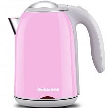 22点开始:Grelide 格来德 D1513A 电热水壶 1.5L 粉色