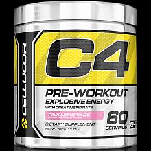 CELLUCOR 细胞肌能 C4金属能量氮泵营养粉 粉色柠檬 390g*3罐
