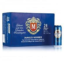 梅克伦堡 小麦黑啤酒500ml*24听*2件