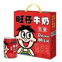 限北京:旺旺 旺仔牛奶铁罐原味245ml*12