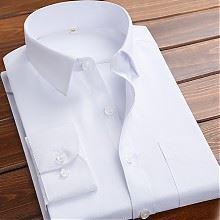 易文秋季男士长袖韩版白衬衫
