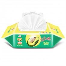 限地区:洁云 婴儿湿巾手口可用 80片 *10件