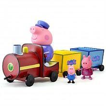 小猪佩奇 过家家玩具 火车主题套装 *2件