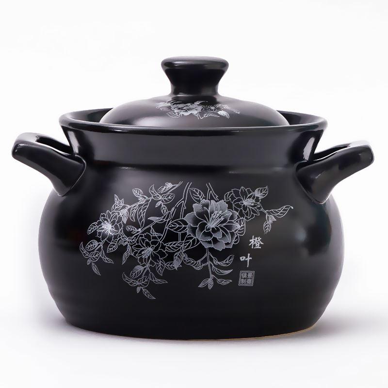 砂锅炖锅陶瓷燃气家用