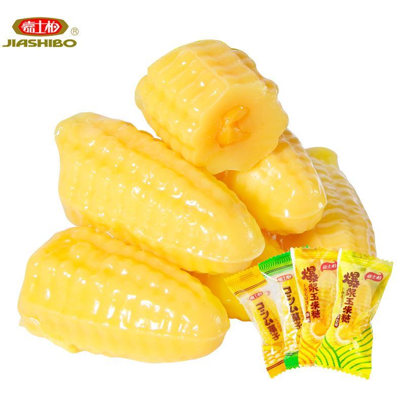 嘉士柏爆浆玉米糖软糖500g