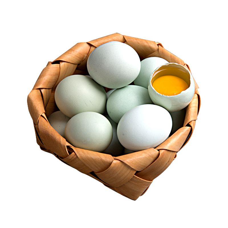 云贵高原农家散养绿壳鸡蛋30枚