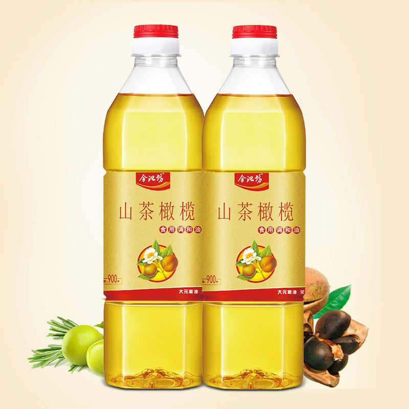 舍记坊山茶橄榄油金装900ml*2瓶