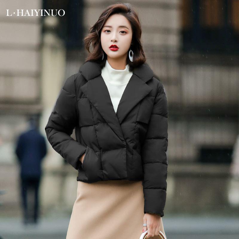 冬季新款韩版加厚面包服棉服