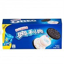 奥利奥蛋糕味夹心饼干194g*3