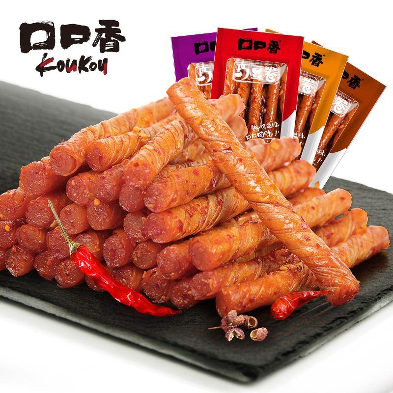【口口香】辣条巧豆卷500g