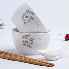 森磊 韩式陶瓷碗 6件套