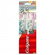 凑单品,限地区:Colgate 高露洁 自然之萃 白珍珠牙刷 2支装