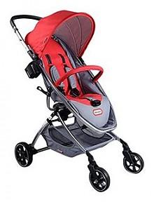 新低价:little tikes 小泰克 高景观婴儿推车 红色