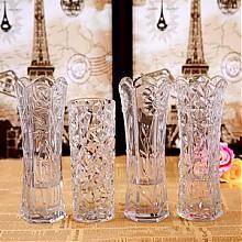 晋鑫 现代客厅大号玻璃透明花瓶