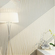 金戈 卧室简约现代无纺布墙纸