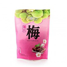 【限华北华东临期特价】玩梅女人薄片梅60g(台湾进口)