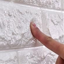 品居 3d立体自粘创意电视背景墙砖纹壁纸