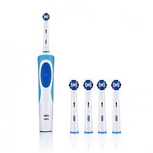 欧乐B 清亮系列 电动牙刷 D12013 白色 EB20-4刷头*4