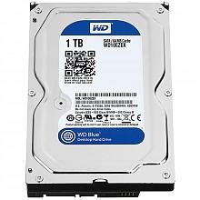 西部数据(WD) WD10EZEX 蓝盘 1TB 台式机硬盘 7200转64M