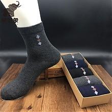 溜哒象 男士 中筒袜 10双