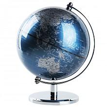 deli 得力 2160 世界地球仪摆件 13cm 凑单品