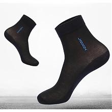 浪莎 男式 纯棉运动袜 6双装