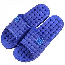 集纯 JICHUN 防滑拖鞋 家居浴室拖鞋 男款深蓝色