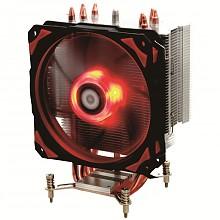 ID-COOLING SE-214pro红黑版 加固型塔式侧吹CPU散热器