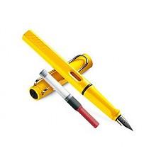 LAMY 凌美 safari 狩猎者系列 亮黄色 钢笔 F尖*2件