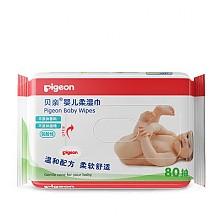 凑单品!Pigeon贝亲 婴儿柔湿纸巾 80片装 KA36