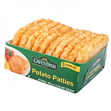 限广东:凯文迪施 加拿大进口 原味薯饼 600g/盒