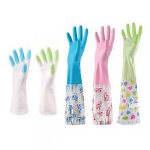 柏康 家务防水橡胶塑胶薄款手套