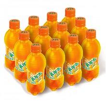 美年达  橙味330ml*12瓶