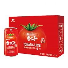 统一 番茄汁180ml*24罐*2箱