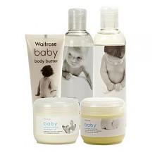 Waitrose 婴儿洗浴护肤 5件套