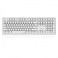 新品首发:AKKO Ducky Zero 3108 机械键盘 白色 红轴