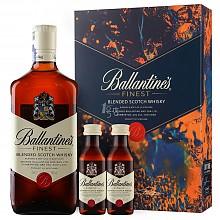 Ballantines 百龄坛 特醇苏格兰威士忌礼盒 700ml 50ml*2