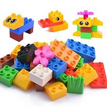 聚乐宝贝大颗粒积木玩具26颗