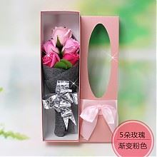 爵熊花艺香皂花5朵