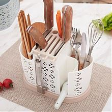 康丰厨房多功能沥水筷子架