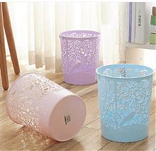 创意镂空家用垃圾桶4个装