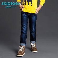 skiptoes中小男童牛仔长裤