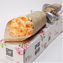 爱唯一玫瑰花束礼盒11枝