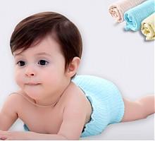 沐童婴儿薄款纯棉纱布肚围