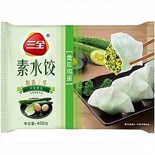 三全素水饺黄瓜鸡蛋口味450g