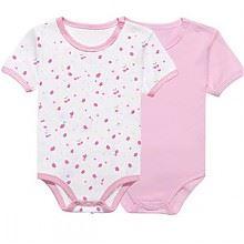 琪凯宝宝婴儿纯棉短袖连体衣
